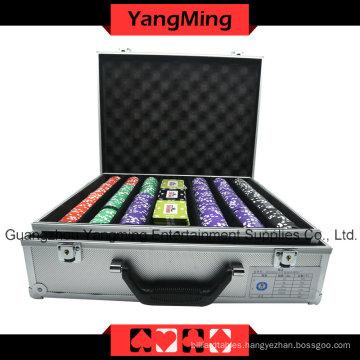 Crown Clay Poker Chips Set (760PCS) -Ym-Sghg004