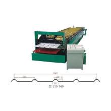 Máquina formadora de rolos de camada dupla 840/900 mm