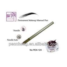 Mão de Maquiagem Permanente Pen para operação de sobrancelha-PEN-12X