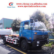 Dongfeng 12cbm camión de basura de la basura para la venta