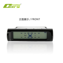 Car TPMS with solar power display