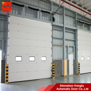 Galvanized Steel Industrial Sectional Overhead Door & Galvanized Steel Industrial Sectional Overhead Door China Manufacturer