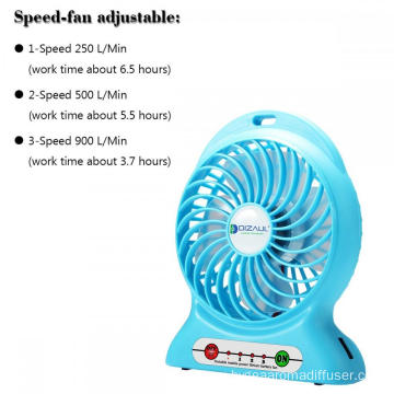 Rechargeable Battery Mini Hand Held Portable USB Fan