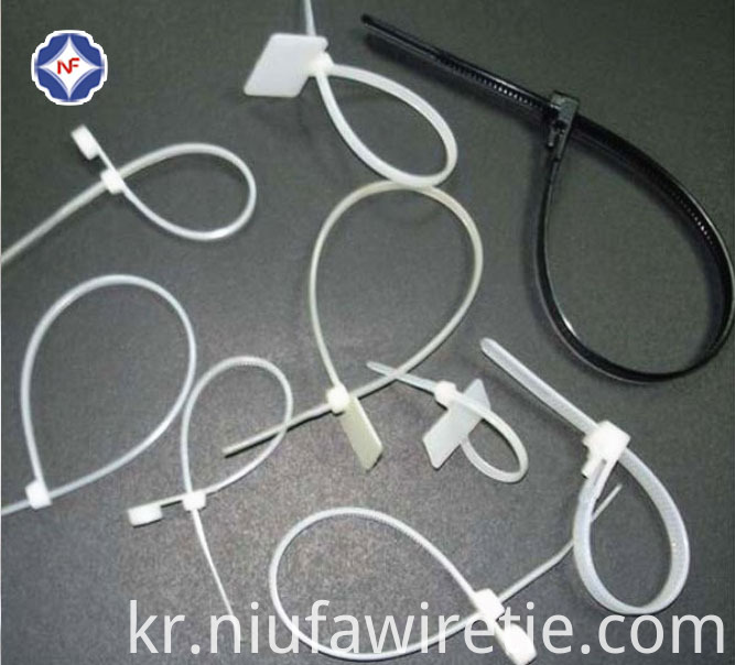 Flat Head Cable Tie