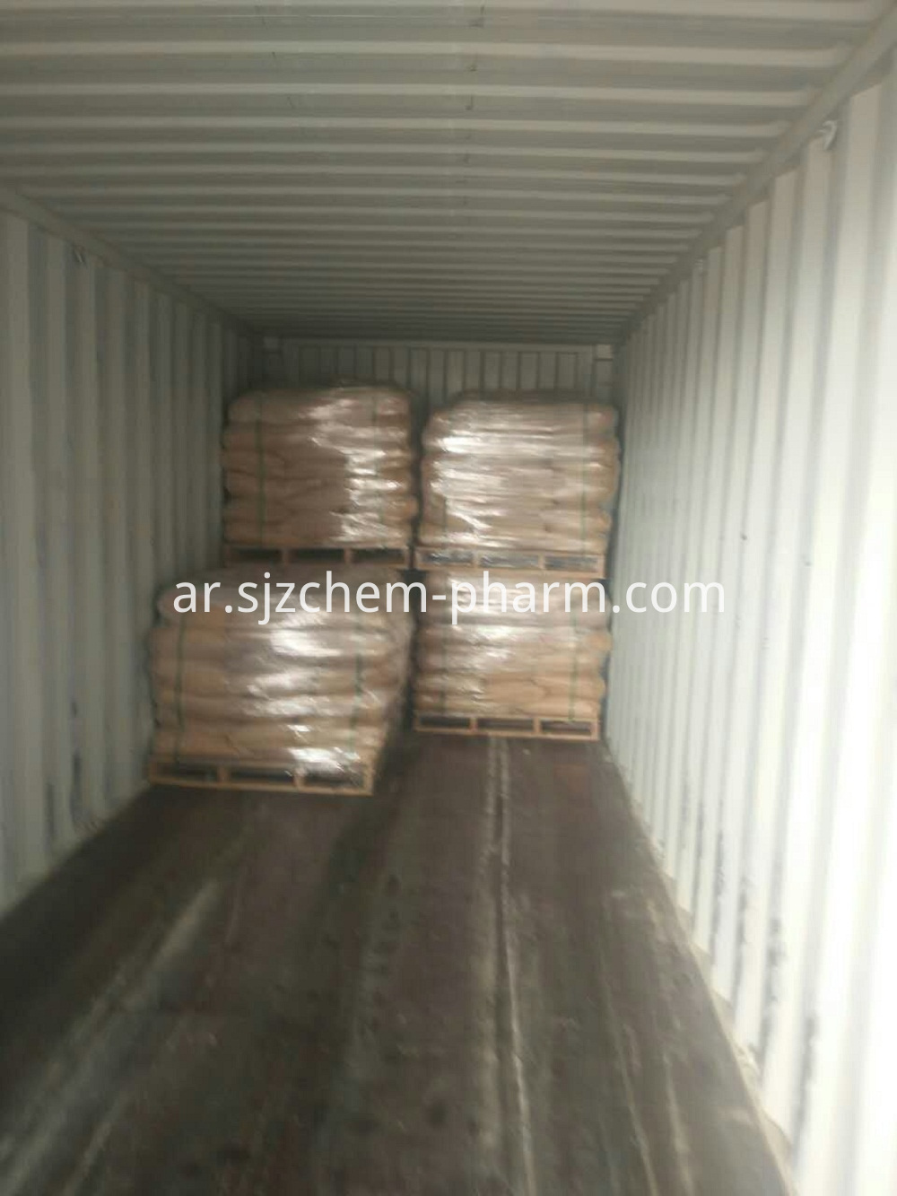 Potassium Bicarbonate In Container