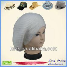 Angora et laine en tricot Hat chapeau angora rabbit prix bonnet chapeaux chaude, LSA46