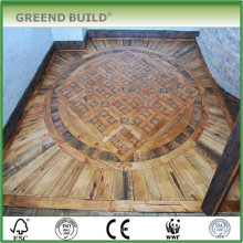 Intersting mosaico medalhão piso padrões