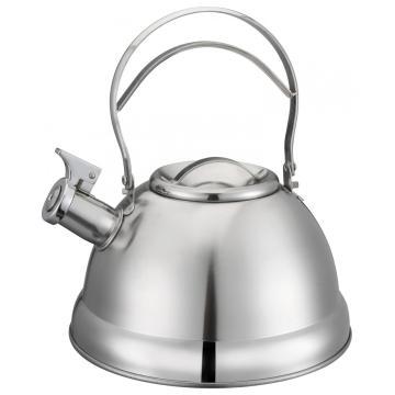 Bule de chá com alça oca de aço inoxidável