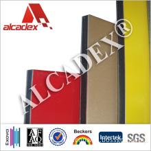 Size 3mm ACP PE Coating Aluminium Composite Panel Waterproof Panels
