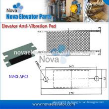 Fahrwerksteile, Traktionsmaschine, Aufzugsdämpfung Gummiauflage für Aufzug Modernisierung