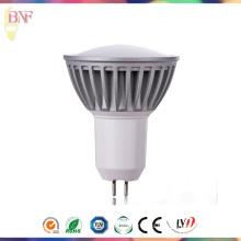 Proyector LED Gu5.3 DC12V con luz natural para 1W / 3W / 5W