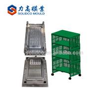 Molde plástico del gabinete del cajón plástico de la inyección a la medida / proveedor del molde de las materias