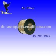 Фильтр Тойота радиальные воздуха оригинального номера: 17801-68020