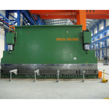 Large Capacity Hydraulic CNC Press Brake (WE67K-800T 8000)
