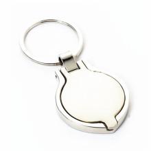 Porte-clés personnalisé de cadre photo en alliage de zinc personnalisé (F1345)