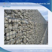 Fabricant soudé de gabion / mur en pierre