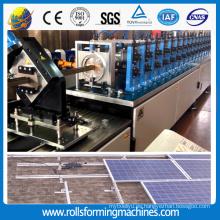 Energía Solar de ZT soporte formando máquina roll grupo que forma la máquina