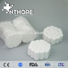 Rouleau de coton dentaire absorbant médical pour dentiste