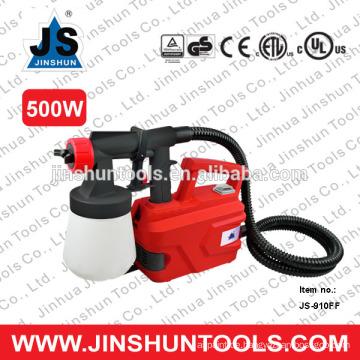 JS Electric 500W HVLP Farbspritzgerät 800 ml Kapazität Spritzpistole, JS-910FF