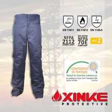 pantalon de protection contre le feu de nylon de qualité supérieure de coton pour la sécurité routière
