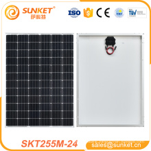 New product solar cell manufacturers 255watts for home use About