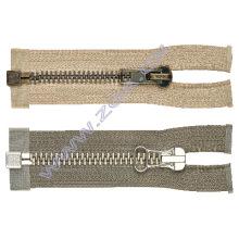 No.10 Brass Zipper,metal zipper,garment accessories