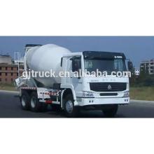 SINOTRUK HOWO 6X4 concrete mixer truck 10 cubic meter