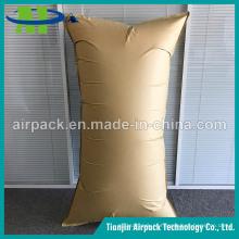 Evite o dano de transporte Encha o saco de ar do Dunnage do papel de embalagem