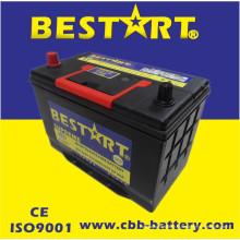 Bateria superior JIS 95D31r-Mf do veículo de Bestart Mf da qualidade 12V80ah