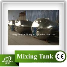 Alimento que mistura o aço inoxidável que refrigera o tanque do envelhecimento do aquecimento