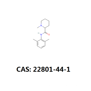 High Quality for Tetracaine Anesthetic Drug Mepivacaine base api and intermediate cas 22801-44-1 supply to Gambia Suppliers