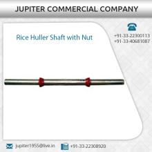 Arbre avec écrou pour machine à riz Huller disponible à prix raisonnable