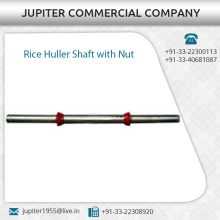 High Performance Rice Huller Shaft with Nut Available at Wholesale Price