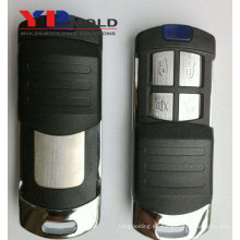 La fábrica de China fabrica la precisión de alta calidad moldeo plástico personalizado de inyección para automóvil coche control remoto clave shell