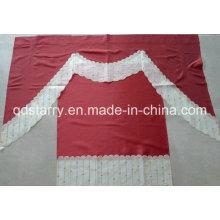 Exportación a la cortina de la cocina del bordado de los EEUU