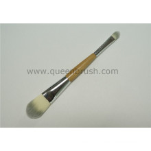 Double Sided Makeup Eyeshadow Brush Synthetic Cosmetic Foundation Brush