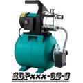 (SDP800-1-C) Sistema de refuerzo de jardín bomba tanque de acero