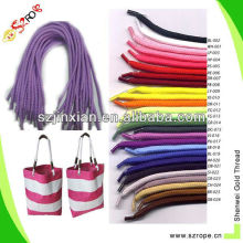 Paper gift bag rope handle for shoping