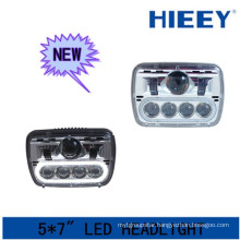 DOT Approval LED headlight 2015 new led low and high beam headlight for truck and heavy duty