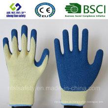 Luvas de látex, luvas de trabalho de segurança (SL-R504)