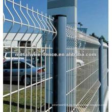 Galvanizado entonces pvc pintó la cerca del acoplamiento de alambre (fábrica anping)