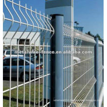 galvanized then pvc painted wire mesh fence(anping factory)