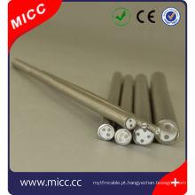 bainha de cabo de revestimento mineral termopar AISI310