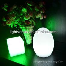 Lampe de table changeante multicolore