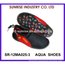 SR-12MA025-3 New arrival child beach aqua shoes anti-slip water shoes water walking shoe