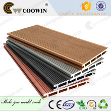 Good quality production line hollow wpc deck flooring board