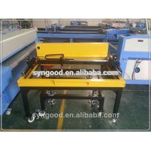 Máquina de gravura e corte do laser de Syngood SG6090-especial para o headstone com gravura do anjo