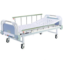 Movable Semi-Fowler Hospital Bed with ABS Headboards B-21-1