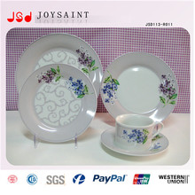 Modern Tableware Food Grade Unbreakable Safety Cheap Bulk Dinner Plates