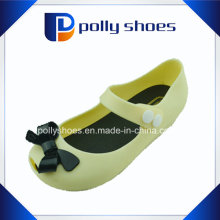 2016 Low Price Washable Transparent PVC Kids Summer Sandal